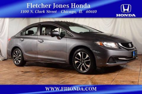 Certified Pre-Owned 2014 Honda Civic EX Front Wheel Drive Sedan