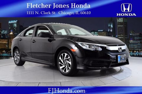 Certified Used Honda Civic EX 4dr Auto