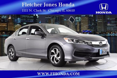 Certified Used Honda Accord LX 4dr Auto
