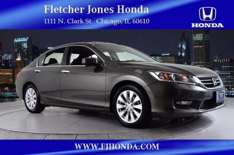 Certified Used Honda Accord EX 4dr Auto