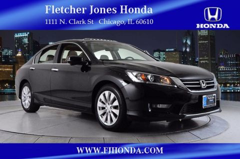 Certified Used Honda Accord EX-L 4dr Auto