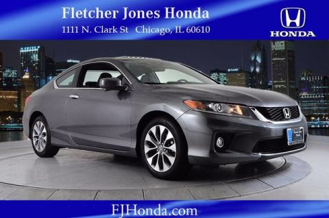 Certified Used Honda Accord EX-L 2dr Auto