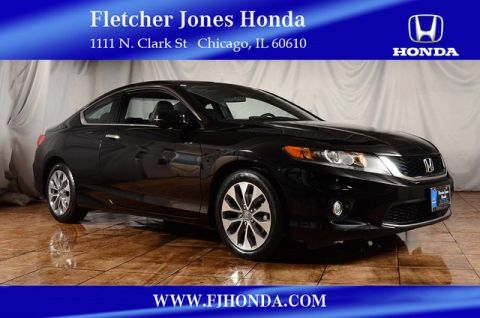Certified Pre-Owned 2014 Honda Accord EX-L Front Wheel Drive Coupe