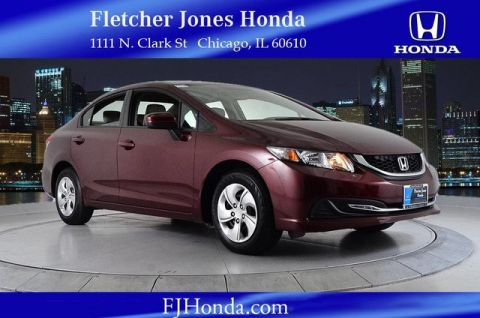 Certified Used Honda Civic LX 4dr Auto