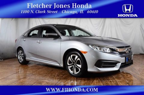 Certified Pre-Owned 2016 Honda Civic LX Front Wheel Drive Sedan